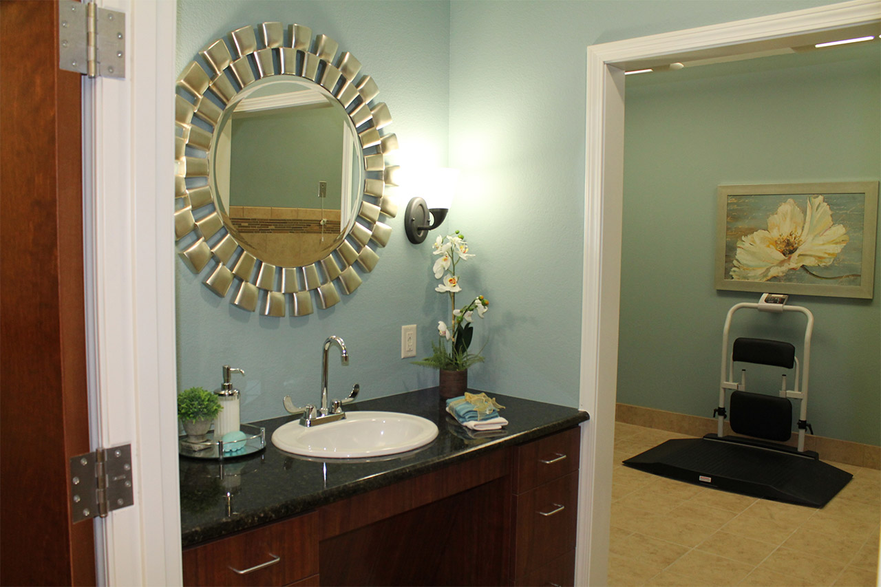 Relaxing spa at Treviso senior care