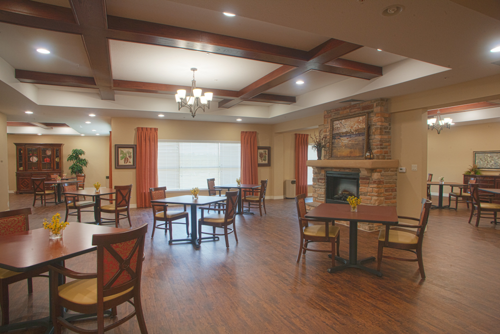 Spacious dining for delicious food at treviso